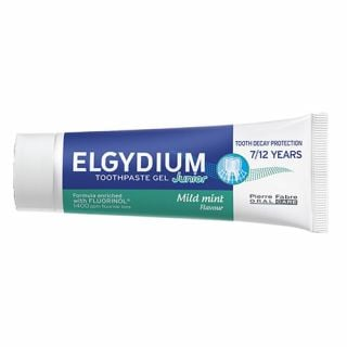 Elgydium Junior Toothpaste Mild Mint 50ml