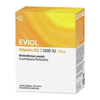 Eviol Vitamin D3 1200IU