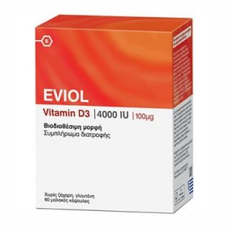 Eviol Vitamin D3 4000IU