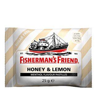 Fisherman's Friend Honey & Lemon No Sugar 25gr