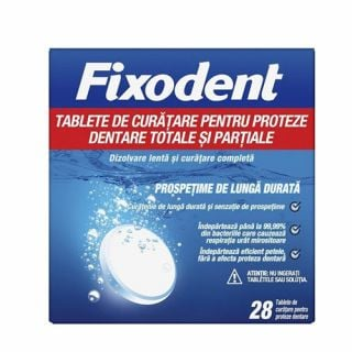 Fixodent Cleansing Tablets 28