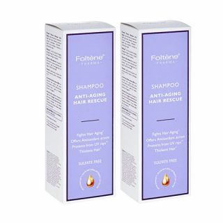 Foltene Pharma Anti-aging Hair Rescue Shampoo 2 x 200ml
