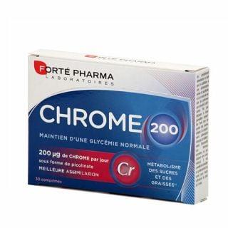 Forte Pharma Chrome 200 30 Tabs