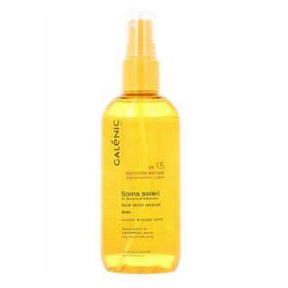 Galenic Soins Soleil Silky Dry Oil Body Spray SPF15 150ml
