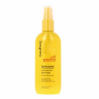 Galenic Soins Soleil Ultra Light Body and Face Spray SPF50+ 125ml