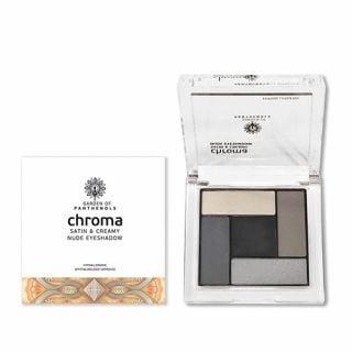Garden Chroma Satin & Creamy Nude Eyeshadow No2 6gr