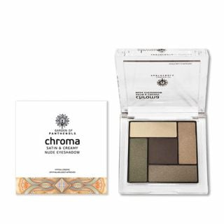 Garden Chroma Satin & Creamy Nude Eyeshadow No3 6gr