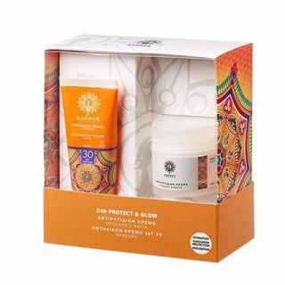 Garden Sunscreen Face Cream SPF30 50ml + Anti-Wrinkle Face Cream 50ml