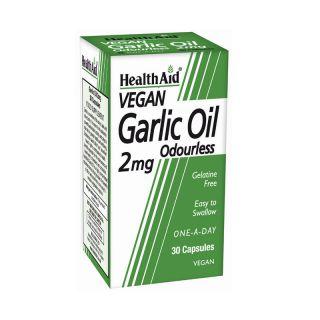 Health Aid Garlic Oil 2mg 30 Caps Έλαιο Σκόρδου