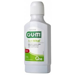 Gum Activital Q10 Mouth Rinse 300ml