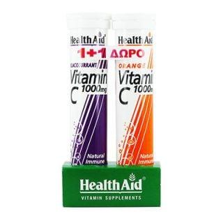 Health Aid Vitamin C 1000mg 2 x 20 Tabs