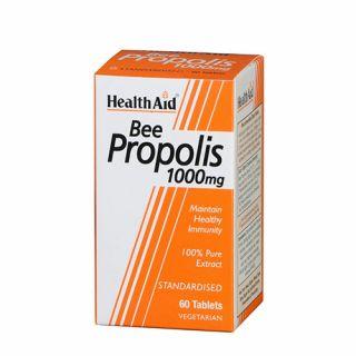 Health Aid Bee Propolis 1000mg 60 Tabs