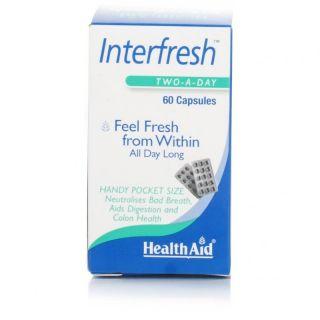Health Aid Interfresh 60 Caps Fresh Breath