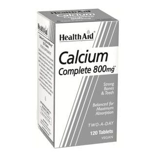 Health Aid Calcium 800mg 120 Vetabs