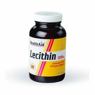 Health Aid Lecithin 1200mg 100 Caps
