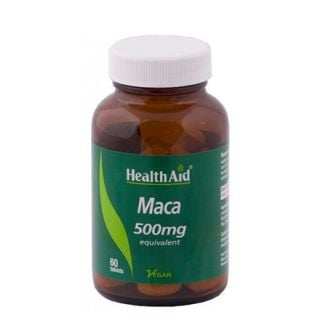 Health Aid Maca 500mg 60 Tabs
