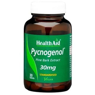 Health Aid Pycnogenol 30mg 30 Tabs