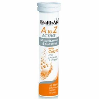 Health Aid A to Z Multi with CoQ10 Tutti Fruti 20 Tabs
