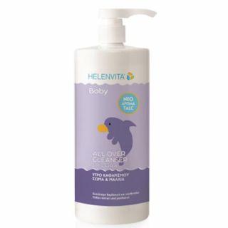 Helenvita Baby All Over Cleanser Talc 1000ml