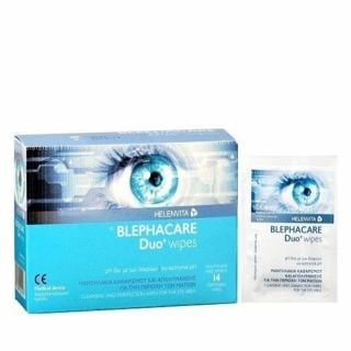 Helenvita Blephacare Duo Wipes 14