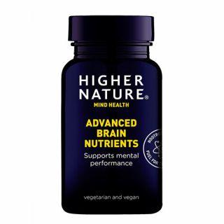 Higher Nature Brain Nutrients 90 Caps