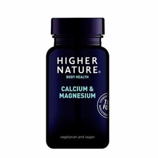 Higher Nature True Food Calcium & Magnesium 120 VTabs