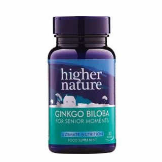 Higher Nature Ginkgo Biloba 6000mg 30 VTabs