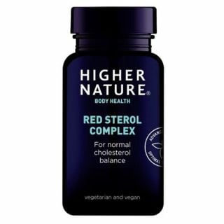 Higher Nature Red Sterol Complex 90 Tabs