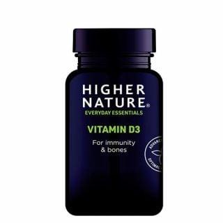 Higher Nature Vitamin D3 120 Caps