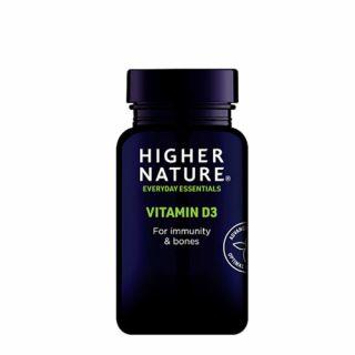 Higher Nature Vitamin D3 500iu 60 Caps