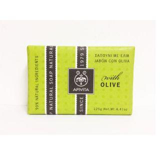 Apivita Natural Soap Olive 125gr