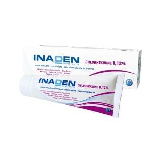 Inaden Chlorhexidine 0.12% Toothpaste 75ml Οδοντόκρεμα Χλωρεξιδίνης