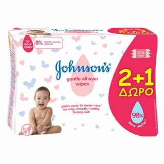 Johnson's Baby Wipes Gentle All Over
