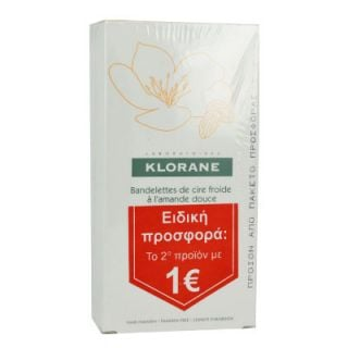 Klorane Hair Removal Cold Wax Small Strips 2 x 6