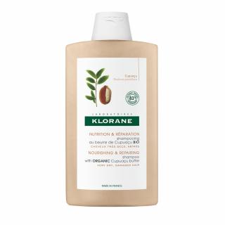 Klorane Σαμπουάν Θρέψης & Επανόρθωσης για Ξηρά Μαλλιά με Βούτυρο Cupuacu 400ml