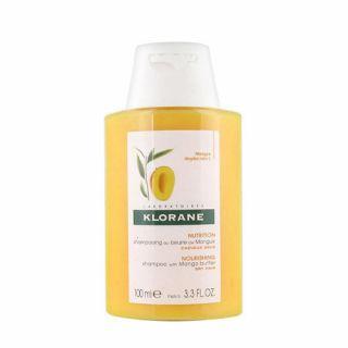 Klorane Shampooing au Beurre de Mangue 100ml