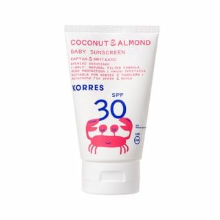 Korres Coconut & Almond Baby Sunscreen SPF30 100ml