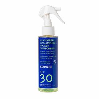 Korres Cucumber Hyaluronic Splash Sunscreen SPF30 150ml