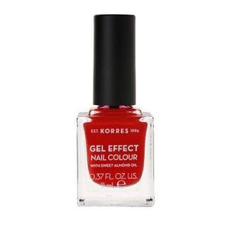 Korres Gel Effect Nail Colour, 53 Royal Red 11ml