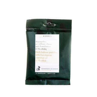 Korres Herb Balsam Pastilles Eucalyptus & Menthol 15