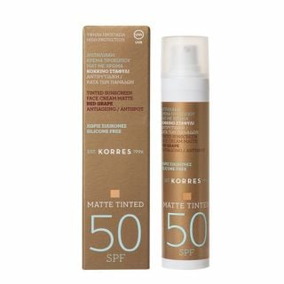 Korres Matte Tinted Sunscreen Face Cream SPF50 50ml