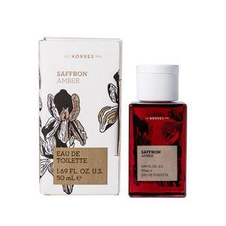 Korres Saffron, Amber Eau de Toilette 50ml
