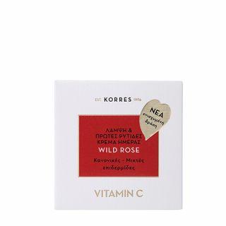 Korres Wild Rose Vitamin C Normal - Combination Skin 40ml