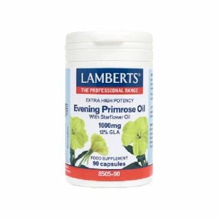 Lamberts Evening Primrose Oil with Starflower Oil 1000mg 90 Caps