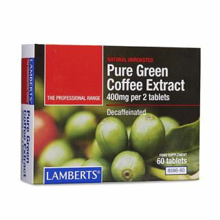 BestPharmacy.gr - Photo of Lamberts Pure Green Coffee Extract 60 Tabs