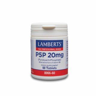 Lamberts P5P 20mg 60 Tablets