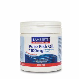 Lamberts Pure Fish Oil 1100mg 120 Caps