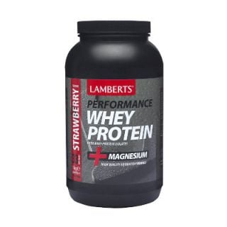 BestPharmacy.gr - Photo of Lamberts Whey Protein Strawberry 1000gr