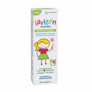 Lavipharm Laviten System Anti Lice Solution 125ml