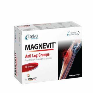 Leriva Magnevit Anti Leg Cramps 30 Caps